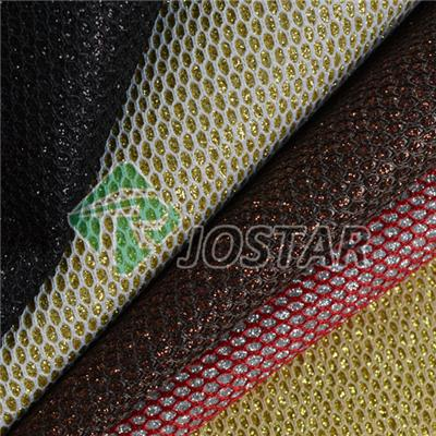 Mesh Fabric With Glitter
