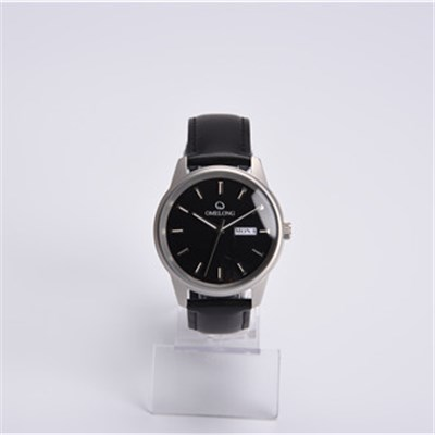 Business Leather Watch With Calendar
