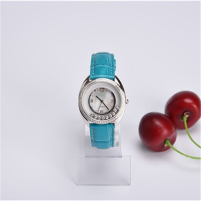 Fashion Elegant Ladies Watch With Blue Strap