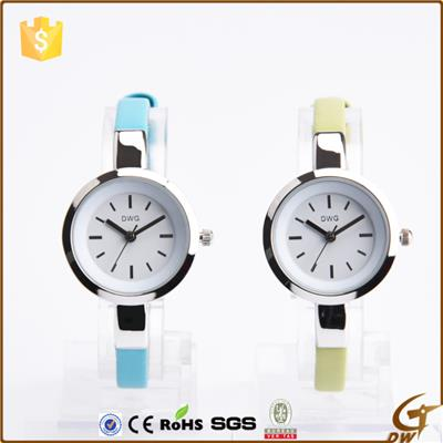 Watches Slim Pu Leather Strap