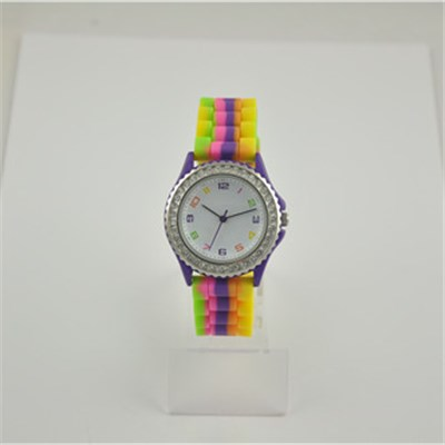 Fashion Women's Favorite Neon Silicone Watch