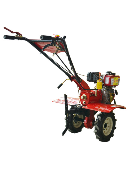 The best farm equipments mini cultivator garden cultivator with tool box