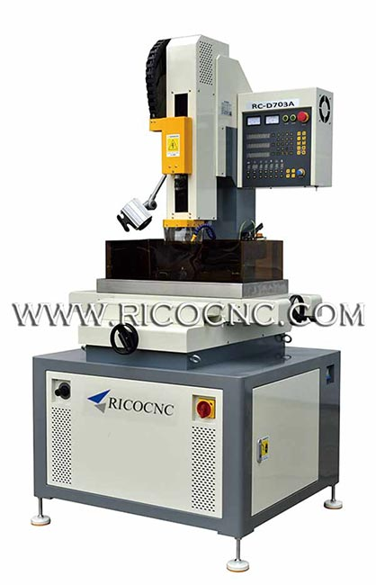 High Precision Micro Hole EDM Drilling Machine EDM Hole Burning Driller RC-D703A