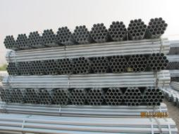 ERW tube hot dip galvanized  1/2~8 BS standard