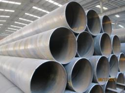 spiral pipe SSAW 219~2500mm diameter 3PE surface treatment