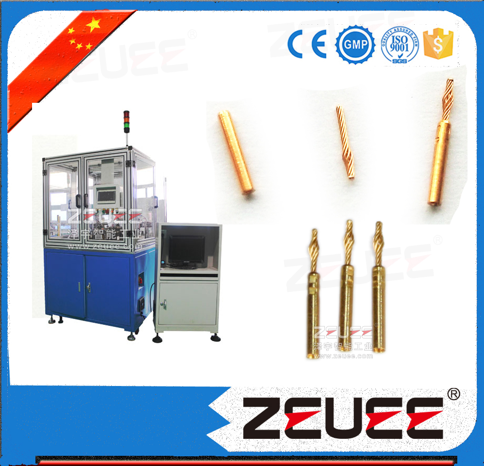 Twist pin contacts assembly machine