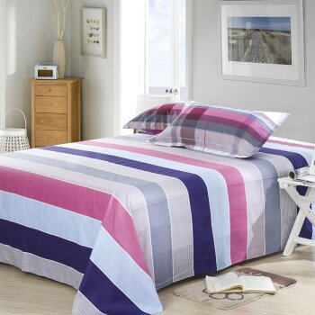 poly/cotton printing bed sheets for home