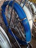 Fibreglass Duct Rodder Fish Tape on Frame & Reel for NBN Roda long