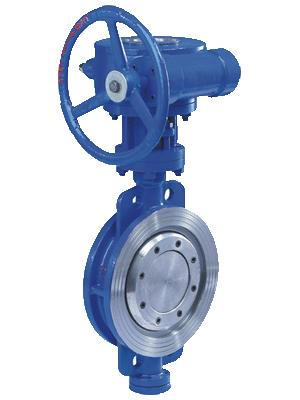 Double Flange Hard Seal Butterfly Valve