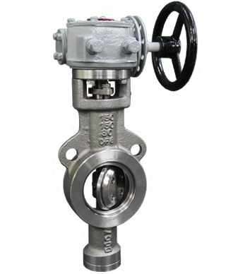 Wafer Type Three-eccentric Center Butterfly Valve