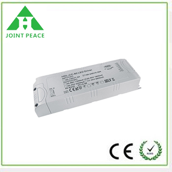 80W 0/1-10V Dimmable Constant Voltage LED Driver