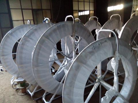 frp perforation cobra duct rodder