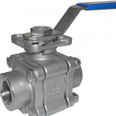 3-Piece  Metal Seat Ball Valve