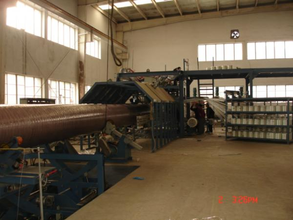 Glass Fiber Reinforced Plastic Pipe (GRP) Continuous Winding Production Line
