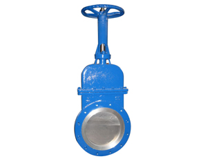 Cast Iron Flat Knife Gate Valve