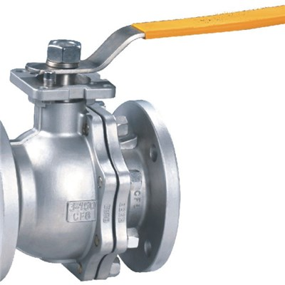 2-PC Body Floating Ball Valve
