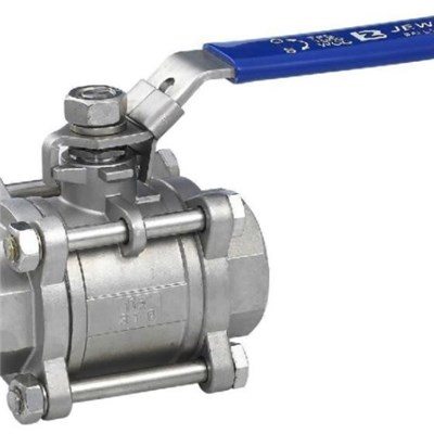 3PC CQ Thread Ball Valves