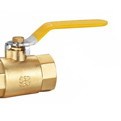 Brass Material Straight Through Ball Valve