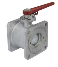 Alloy Straight Through Ball Valve