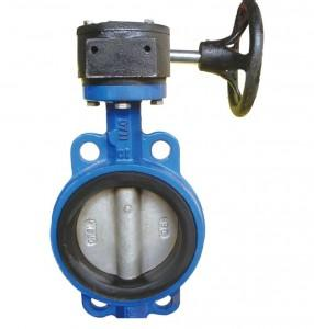 Gear Wafer Type Butterfly Valve