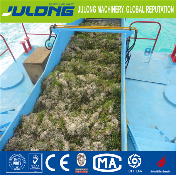 aquatic weed pollution cutting harvester for sale
