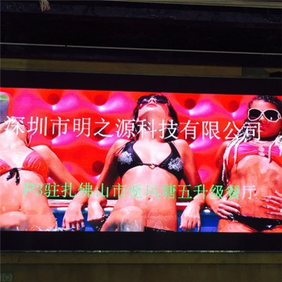 p3 sexy girl full color hd led screen led sign for your business