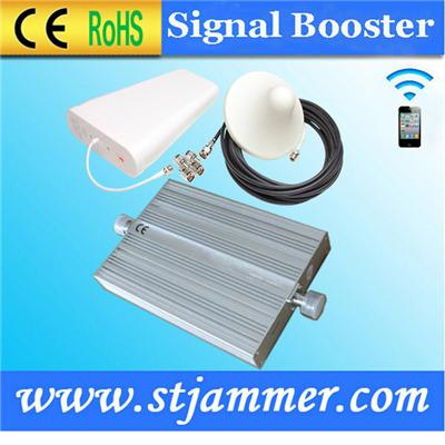 2G&3G Dual band 65db gain cell phones signal booster with 5db Omni-directional Dome Ceiling Antenna suppliers