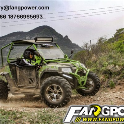 400CC 4x2 UTV 2 seat EPA four wheel hunting off road legal buggy