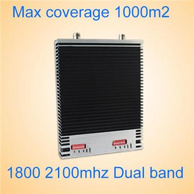 Ultrathin Signal Booster DCS1800&WCDMA2100MHz Wifi Repeater