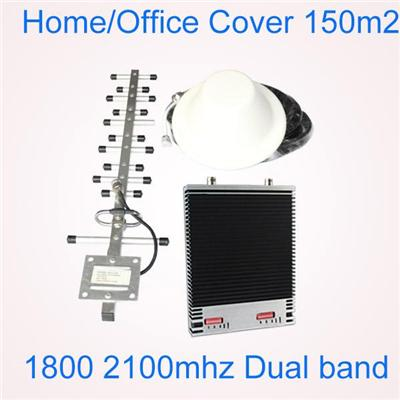 1710-1770 1820-1880mhz DCS1800MHz 2g cell phone signal repeater and booster