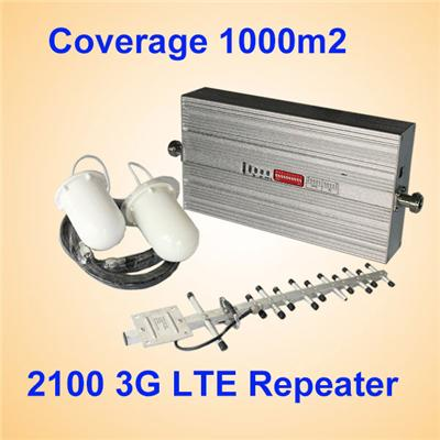 2100MHz WCDMA 3G Repeater Mobile Signal Booster