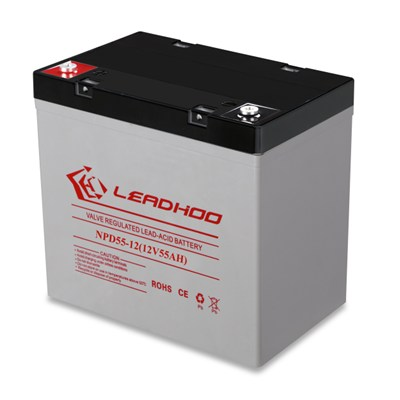 12V55Ah AGM Rechargeable Deep Cycle Battery
