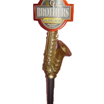 Brothers Saxophone Beer Tap Handle DY-TH1029-1