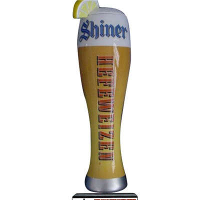 Shiner Hefeweizer Glass Beer Tap Handle DY-TH25