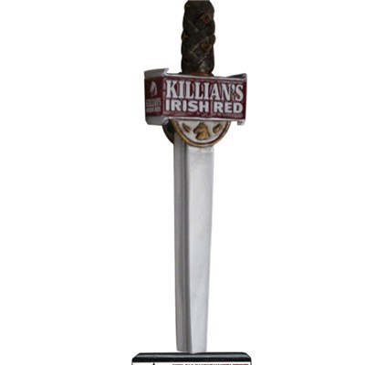 Killian Is Irish Red Sword Beer Tap Handle DY-TH0323-166