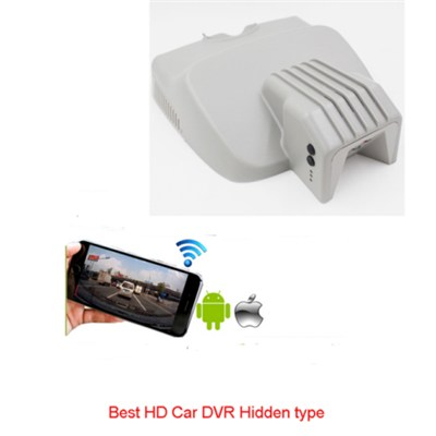 Factory New Design Special Hidden Typy Car DVR For Benz With WIFI Support Android And Ios
