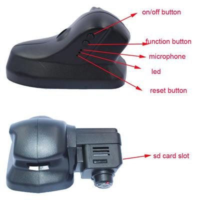 Hidden Special Car DVR Black Box With Original Design Original Material For Landrover And Jaguar With Window Closing Function