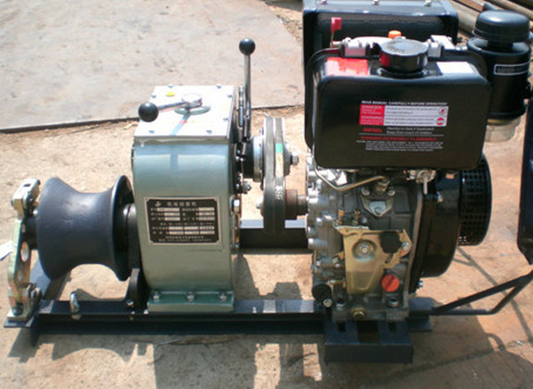 electric lifting winch