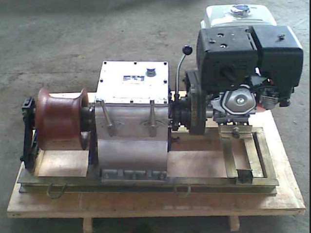 cable winch erection,set up wire rope
