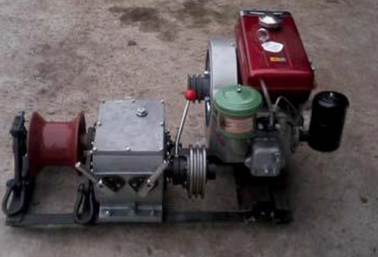 tractor cable winch, cable puller for sale/Electrical