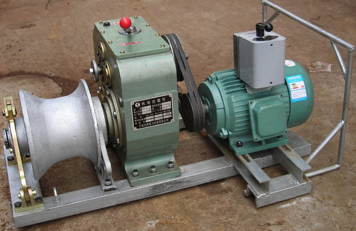 hand grinder, lifting and traction