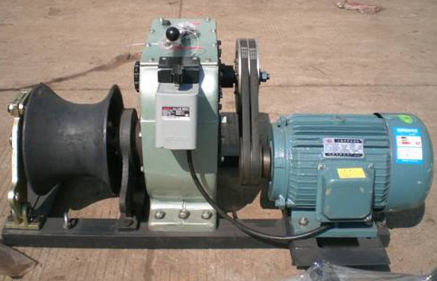 model 3t, 5t, 8t cable winch