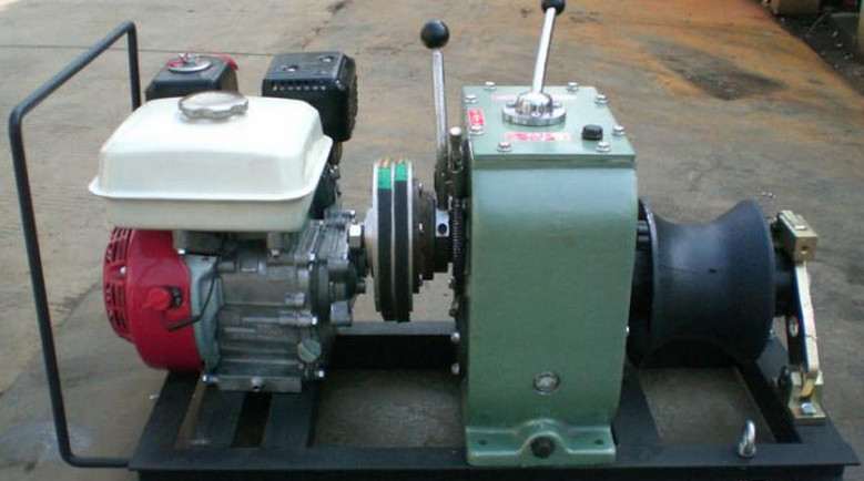 Asia Cable pulling winch, CABLE LAYING MACHINES,Cable bollard winch