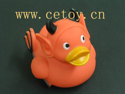 devil rubber duck