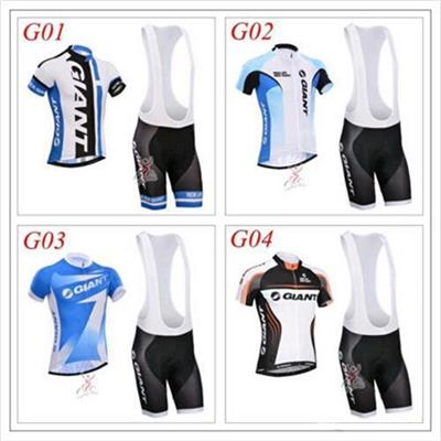 Free Shipping Short Sleeves Cycling Jersey Four Style Bicycle Clothes Size XS-4XL