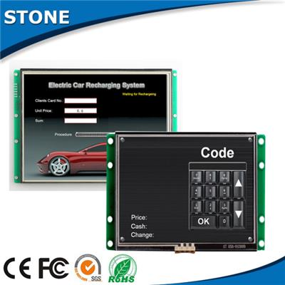 5 inch sunlight readable tft lcd screen with human machine interface and brand name cpu for industrial coffee table