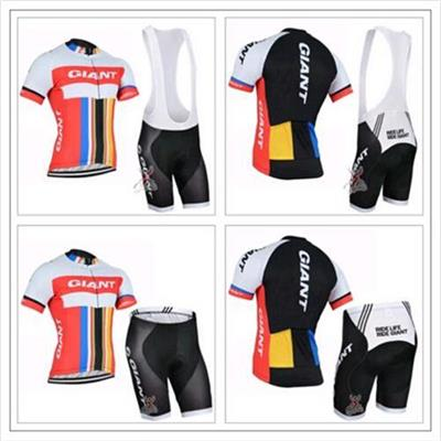 2016 New Cycle Short Sleeve Clothes Cycling Shirt or Bib Suspenders Shorts