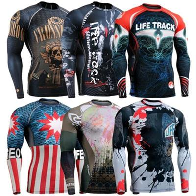 Ghostwolf For Men Cycling shirts outdoor sports long sleeve Top Jersey