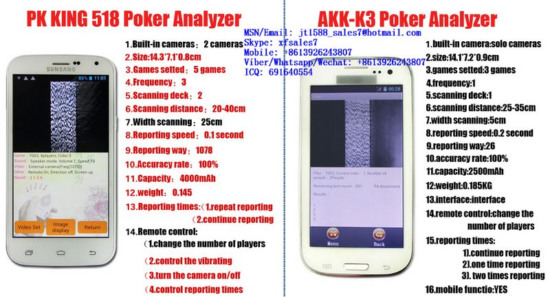 XF PK King 518 Poker Analyzers Are The Best And Most Advanced Poker Predictors In This World