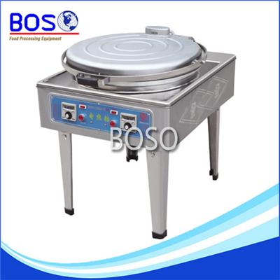 Single Plate Electric Crepe Machine (Pointer Meter BOS-128-K)